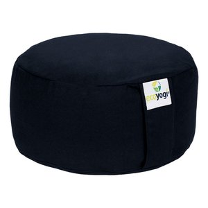 Ecoyogi Meditation cushion Round Dark Blue 100% biological cotton