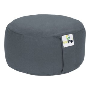 Ecoyogi Meditation cushion Round Stone 100% biological cotton