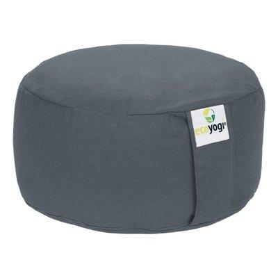 Ecoyogi Meditation cushion Round Stone 100% biological cotton