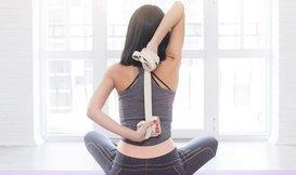 Hoe gebruik je een yoga riem