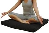 Meditatiemat of zabuton gebruiken