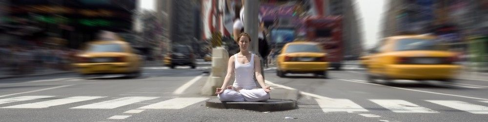 Mediteren in een drukke omgeving