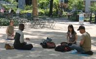 Meditatie in openbaar
