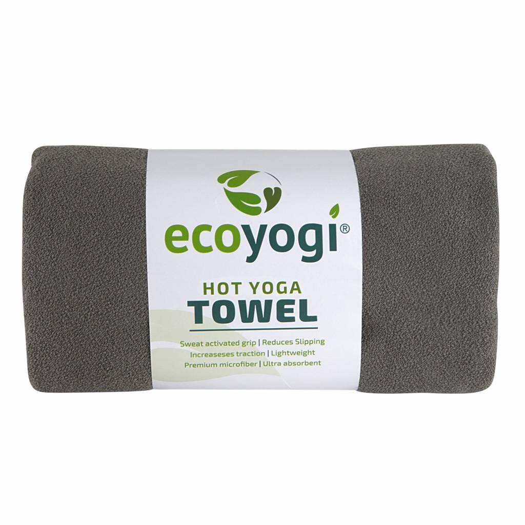 Ecoyogi Hot Yoga Handdoek Grijs Yogamat Online
