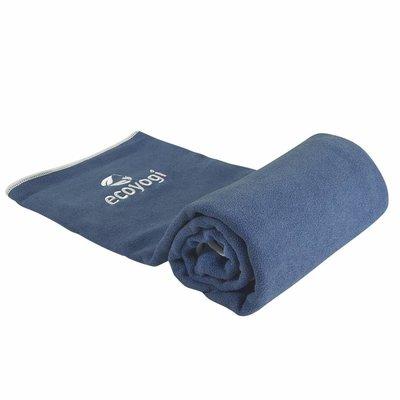 Ecoyogi Hot Yoga Towel Blue