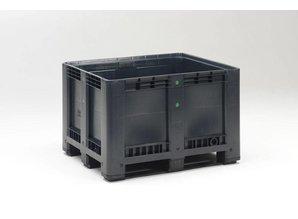 Palletbox 610 liter op 3 sleden, recycle
