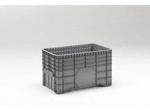 Grootvolume bak perfo 300 liter op 4 poten, grijs