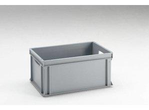 Rako-bak 53 liter met open grepen, grijs