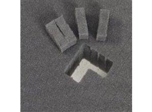 Blokschuim 50 mm, gestanst 35,5x25,5