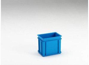 Rako-bak 9 liter, grijs, blauw en rood