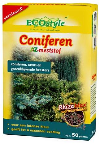 Coniferen AZ, Voor een intense kleur