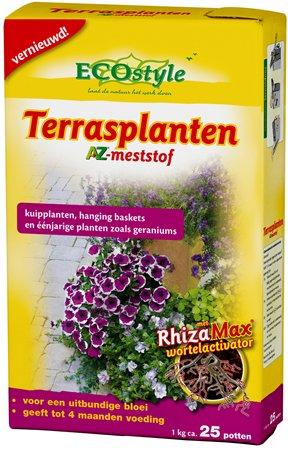Terrasplanten AZ, Voor een uitbundige bloei