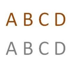 Letters corten - RVS