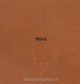 Beton floor kleur 6 Moka