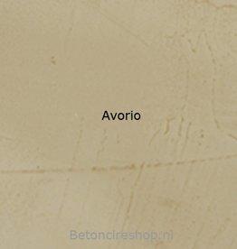 Beton floor Farbe 8 Avorio