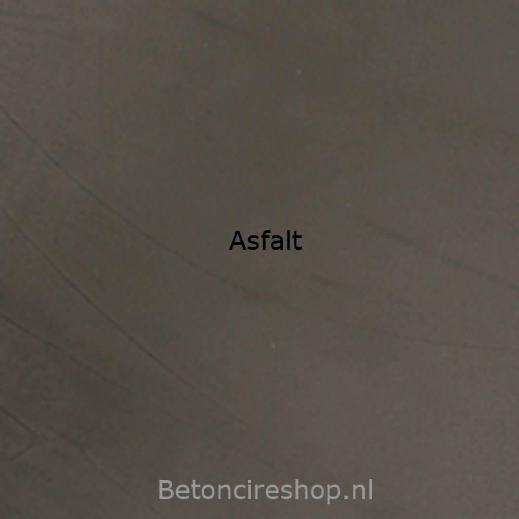 Beton floor Farbe 19 Asphalt