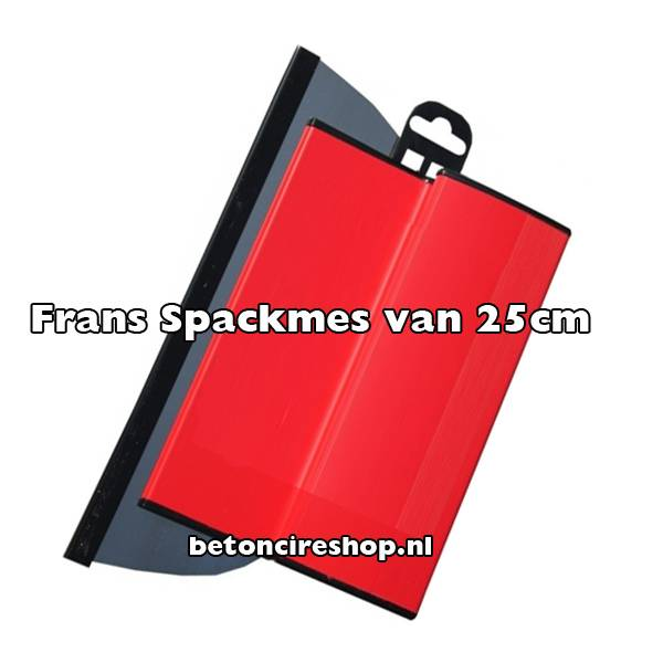 Französische Flächenspachtel 25 cm