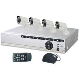 SecuEasy Basic 4 DVR Set met 4 bullet camera