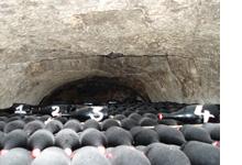 Rijpen van Don Perignon in de kelders van Moet et Chandon