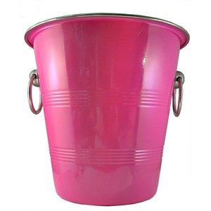 Roze champagnekoeler
