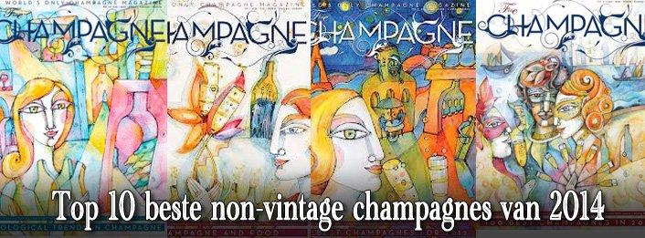 Beste non-vintage champagne top 10 van 2014