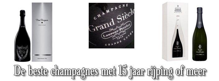 De 3 beste gerijpte champagnes