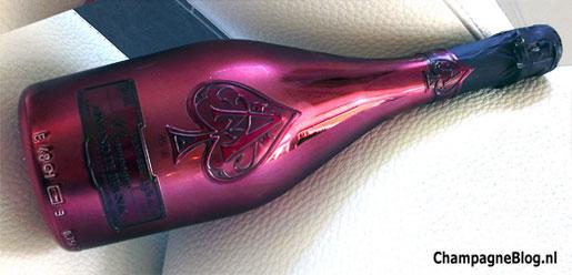 Armand de Brignac DEMI SEC champagne (Ace of Spades)