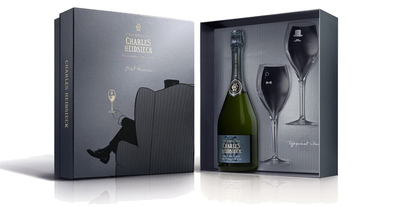 Mo t chandon champagne met 2 flutes in luxe geschenkdoos champagne babes - Chique campagne ...