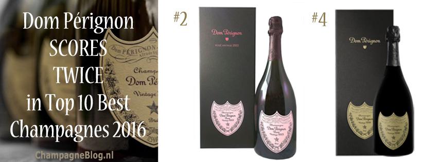 Dom Perignon beste champagne 2016