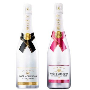 Moet & Chandon Ice Rosé & Ice Imperial Champagne Duo