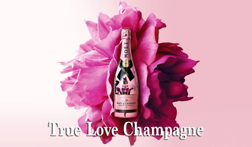 Drink deze rosé champagne samen met jouw eigen babe en vier jullie liefde