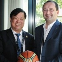 PEAK Chairman Xu visits House of Basketball   FIBA.COM