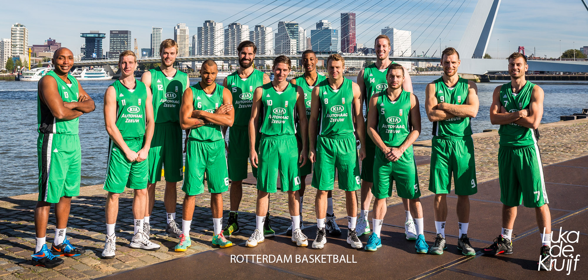 TEAM FOTO ROTTERDAM BASKETBALL