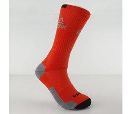 PEAK High Performance Sport Sokken - Oranje - Grijs - Zwart