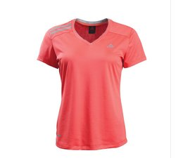 PEAK Coolfree Performance Shirt met Coolspheres Technology Orange/Grey Woman