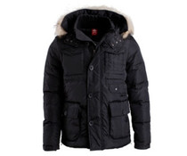 Heavy Down Jacket Black