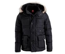 PEAK Sport Winterjas kleur Zwart