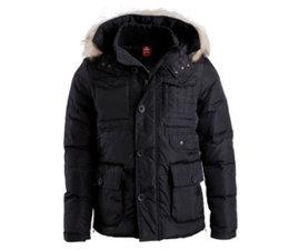 PEAK Sport Stevige kwaliteit winterjas in de kleur Zwart - Style F5241071