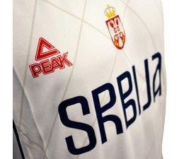 PEAK Sport PEAK Jersey Serbia in White