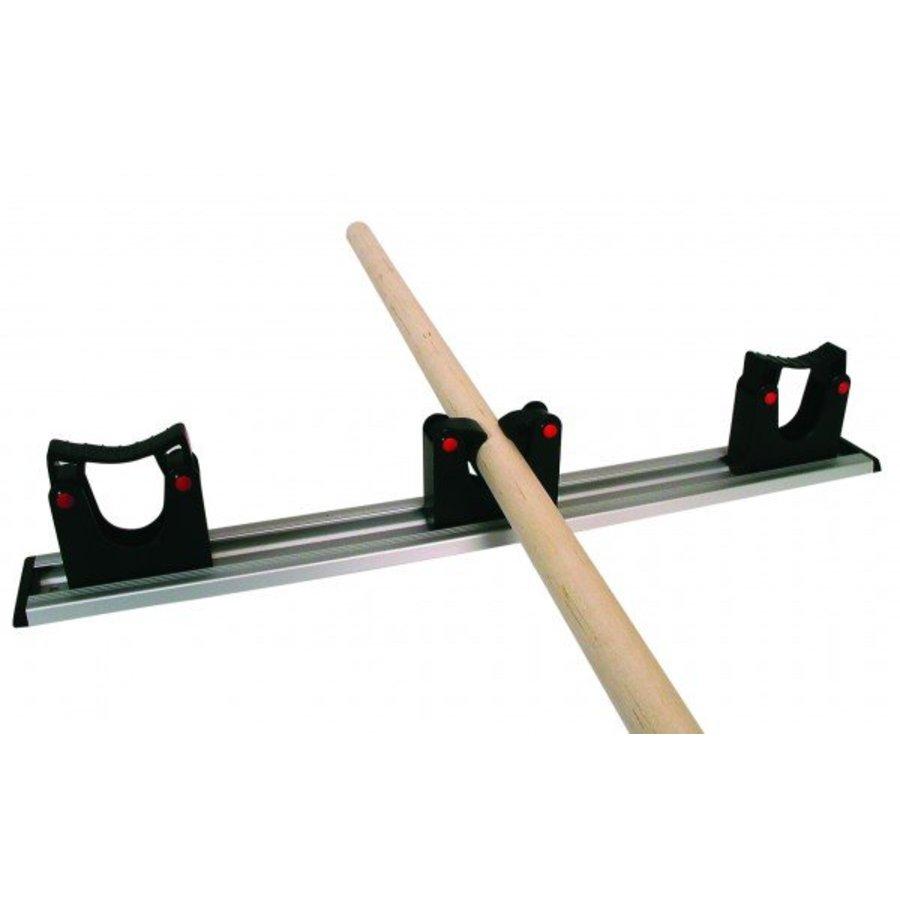 ophangsysteem 50 cm incl. 3 steelklemmen (ø 20/30 mm)