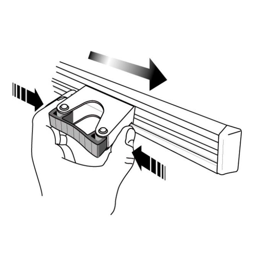 Gerätehalter 50cm inkl. 3 Halterungen