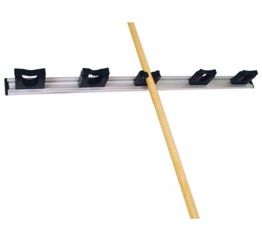 Gerätehalter 90cm inkl. 5 Halterungen
