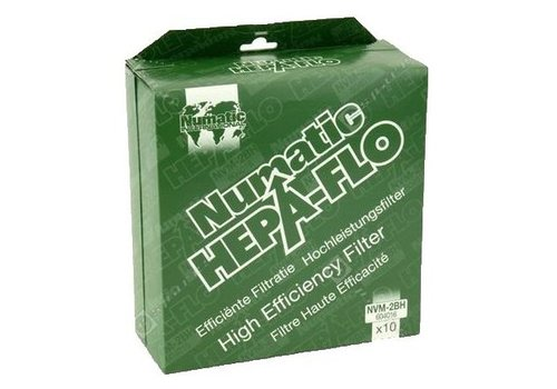 Numatic Hepa-Flo Staubsaugerbeutel 2BH