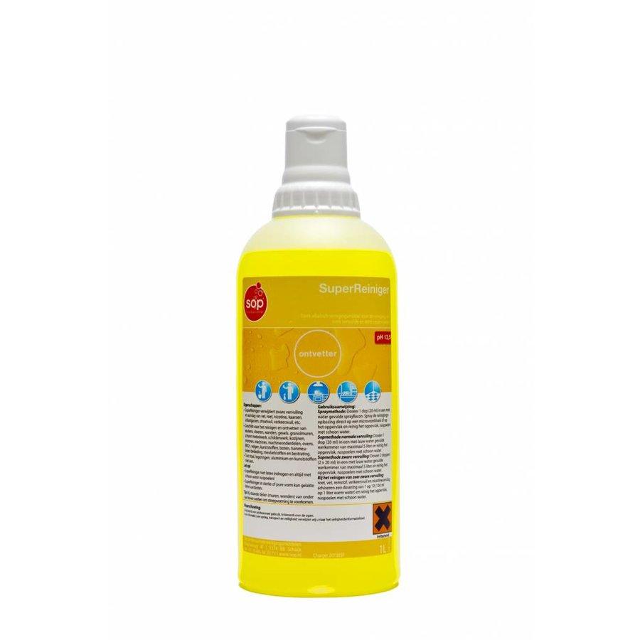 SuperReiniger (Entfetter, Flasche à 1ltr mit Verschlusskappe)