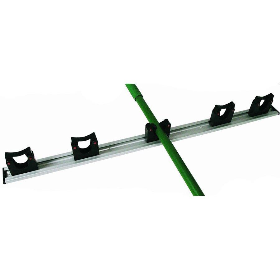 ophangsysteem 90 cm incl. 5 steelklemmen (ø 20/30 mm)