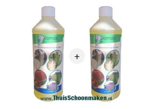 Biomos groene aanslag verwijderaar