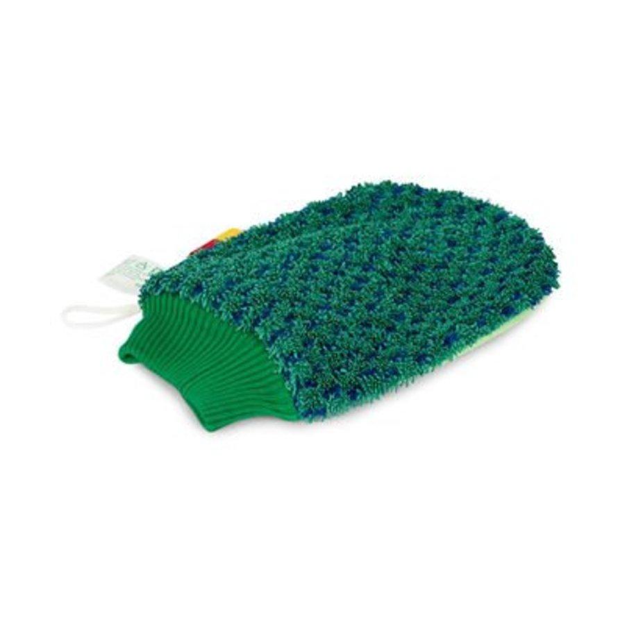 Handschuhe Scrub - Grün/Blau