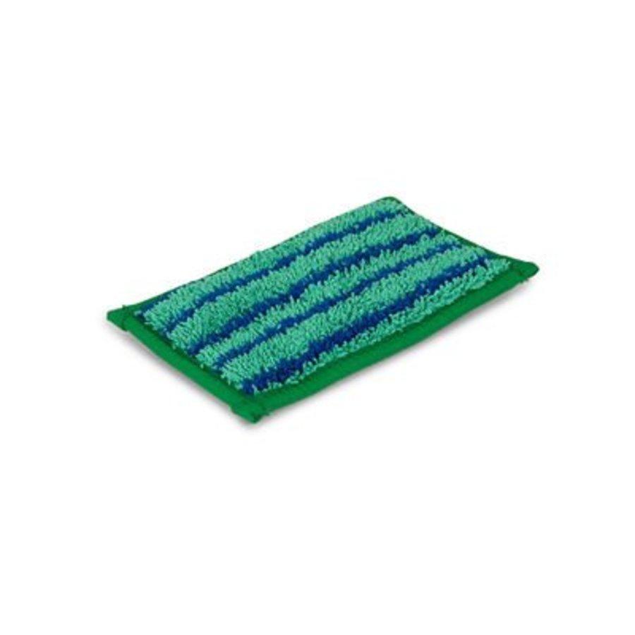 MiniPad Scrub 9 x 16 cm (groen met blauwe strepen)