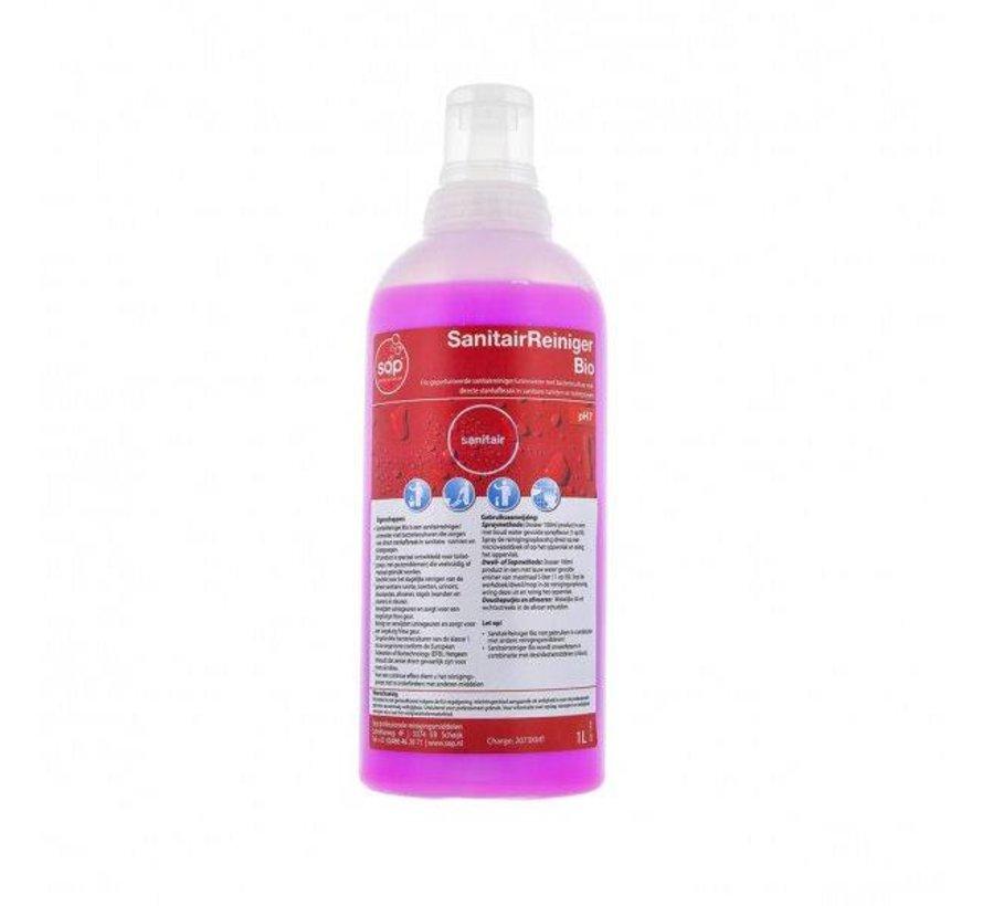 Sanitairreiniger Bio (fles à 1 liter met doseerdop)