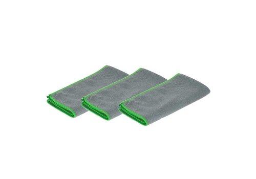 3 stuks Greenspeed Original Microvezeldoek - Grijs